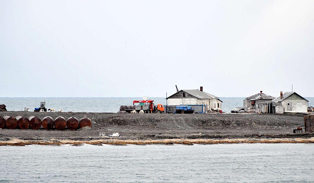 Touristen nehmen Kurs auf Novaya Zemlya