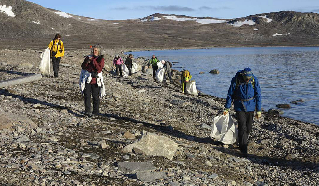 Cleanup – Spitzbergen mit Oceanwide Expeditions