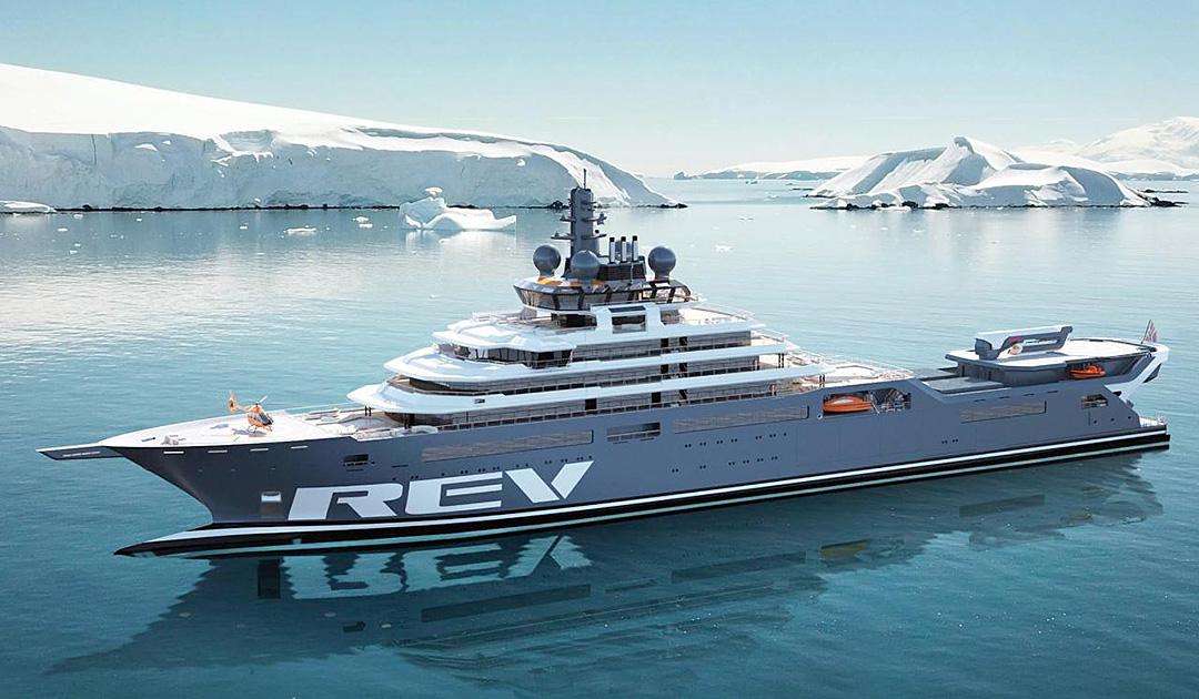 «REV Ocean» erhält in Bremerhaven das Finish