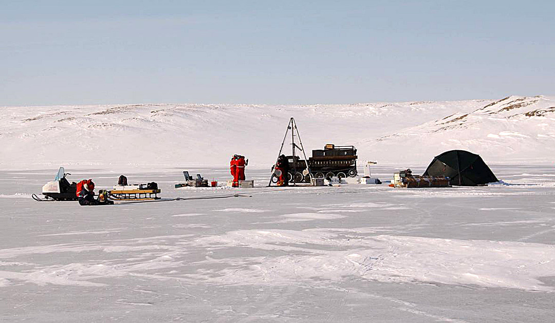 Auftauen des Permafrostes fördert den Methanausstoss