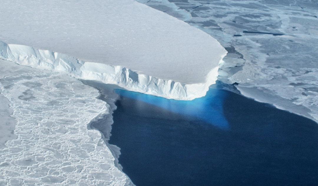 Thwaites-Gletscher wird von allen Seiten erwärmt