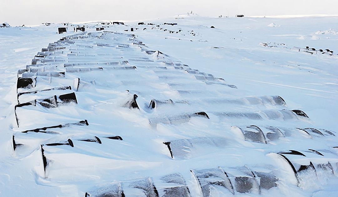 Russische Armee entsorgt Altlasten aus der Arktis