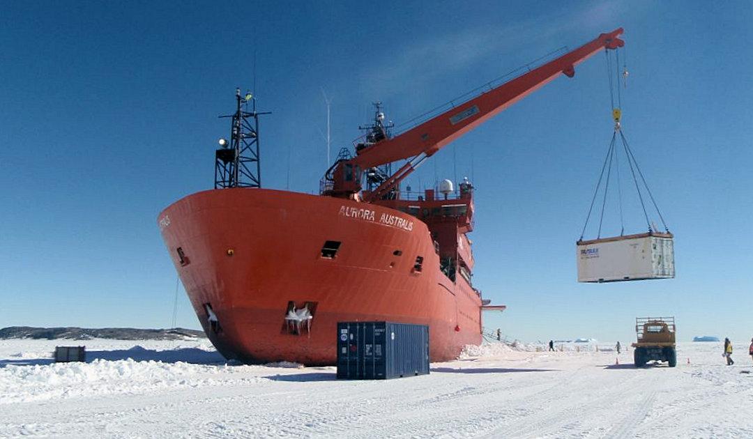 Australischer Eisbrecher Aurora Australis geht in Rente