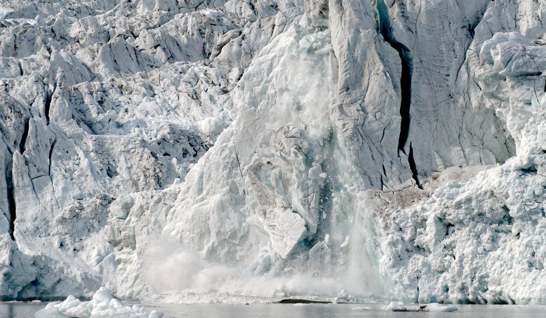 The Sound of Glaciers – Wieviel Eis bricht bei Kalbungen ab