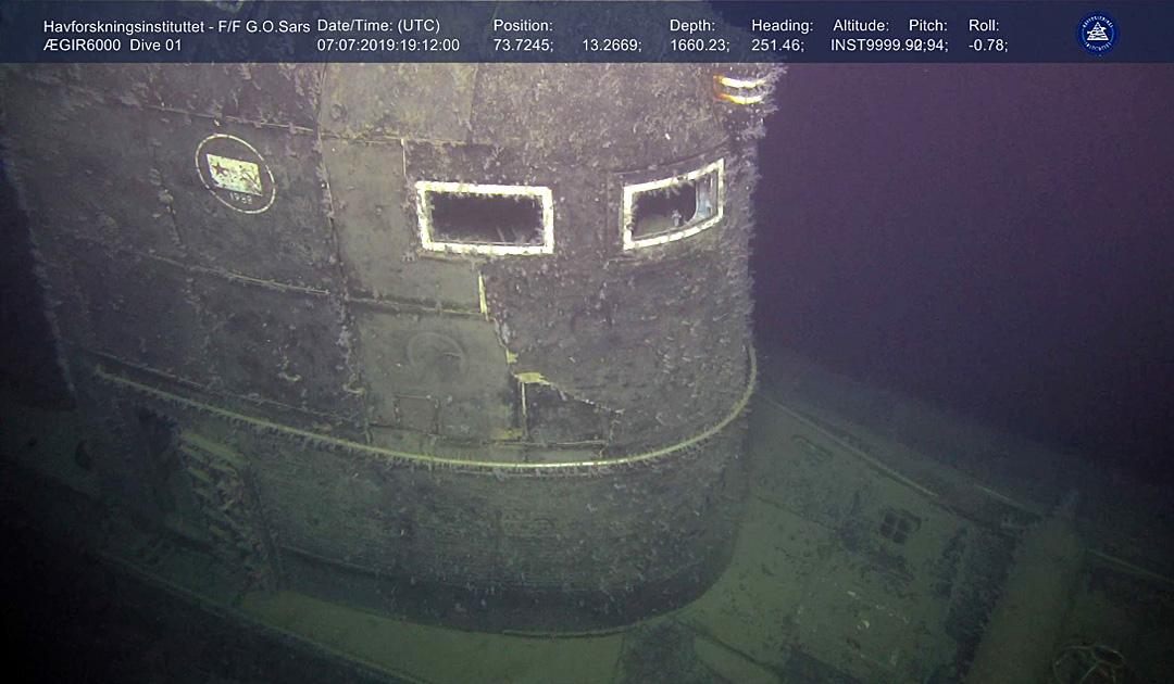 Expedition zum Atom-U-Boot «Komsomolets»