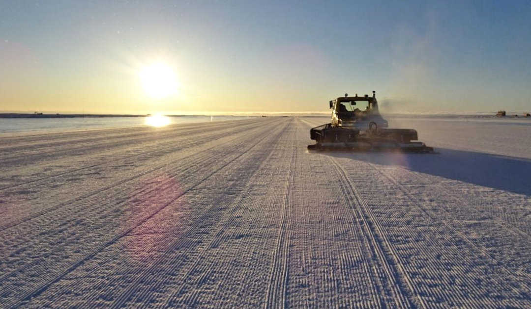 Australiens neuer Flugplatz in Antarktika
