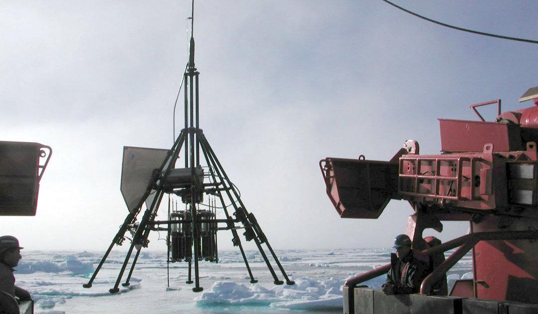 Mikroplastik findet Weg in arktische Tiefsee
