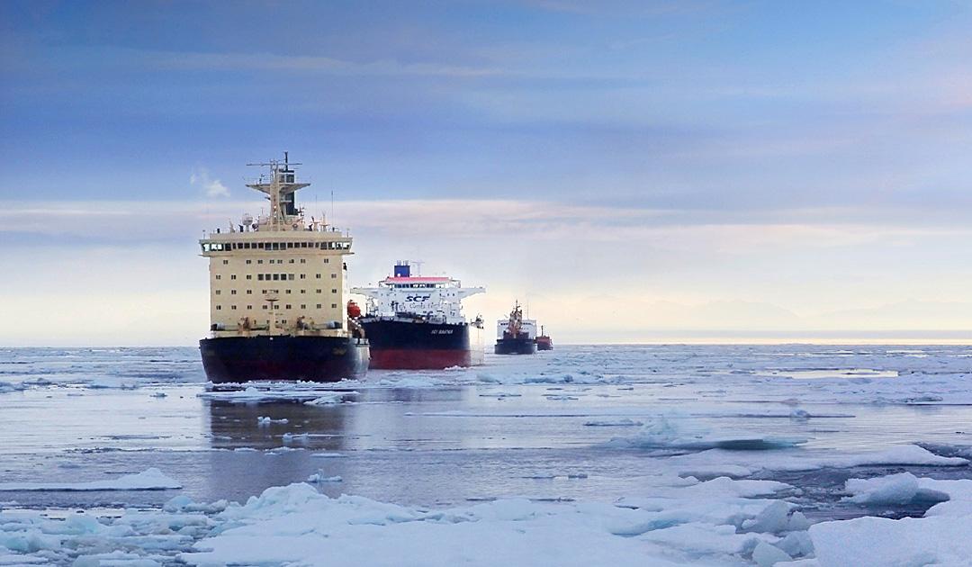 Schifffahrt durch die Arktis könnte nachhaltig und rentabel werden