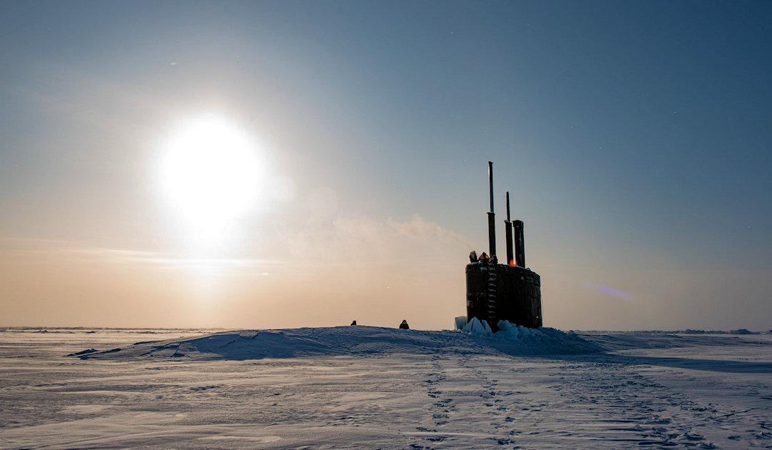 US-geführte Militärübungen nahe Nordpol mit U-Booten