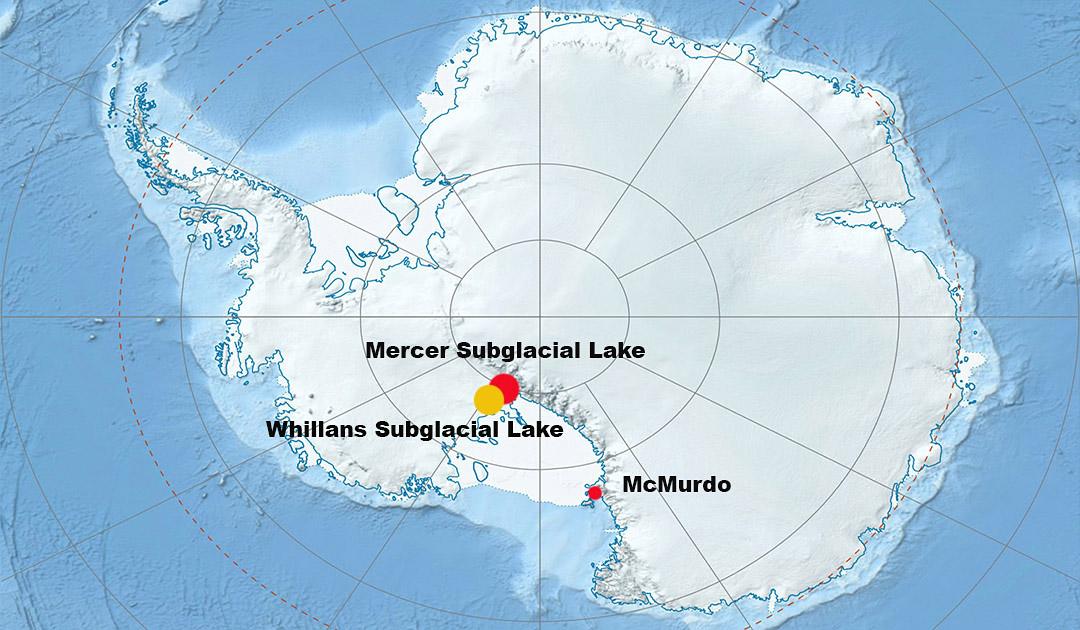 Subglaziale Seen sind kalt, dunkel und voller Geheimnisse
