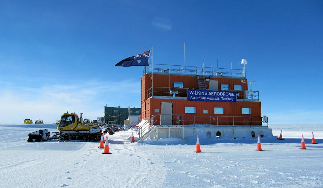 Antarctic aerodrome creates a stir