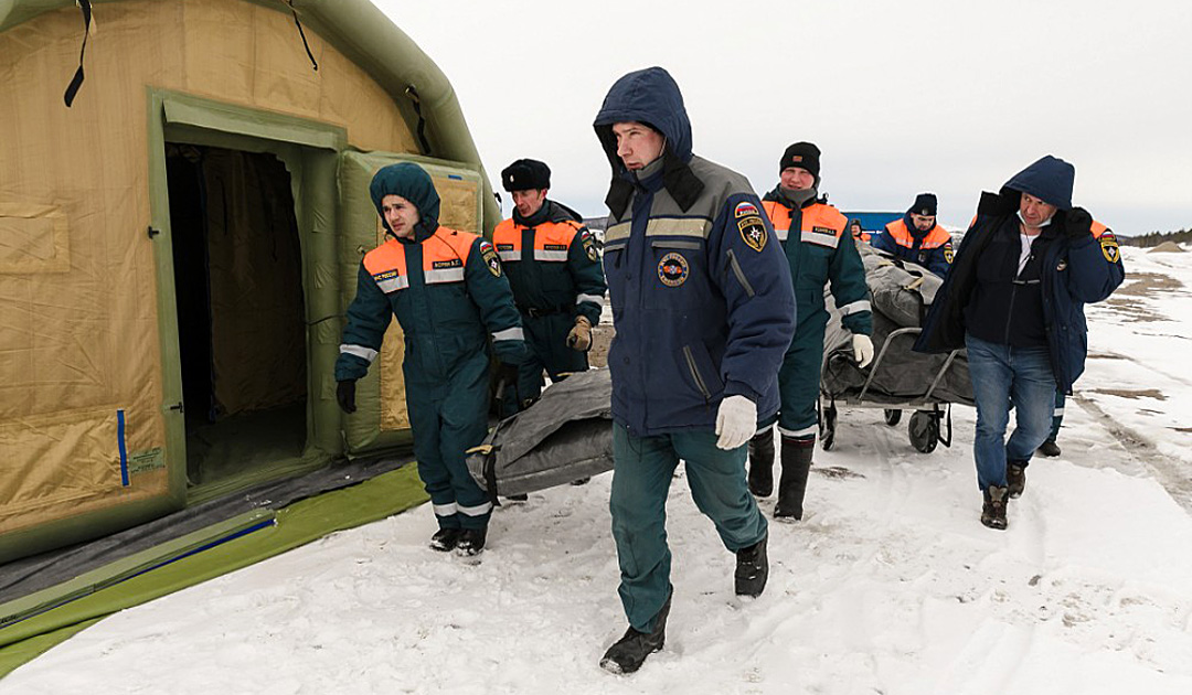 Murmansk – CoViD-19-Virus auf Novatek-Baustelle