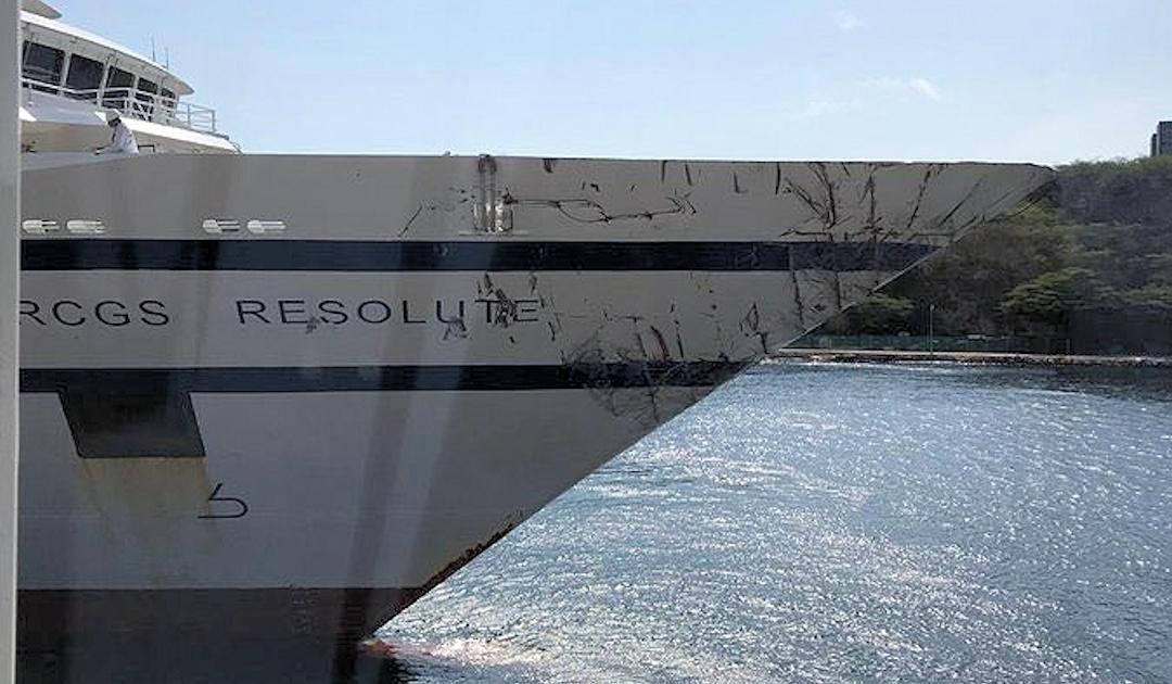 Venezolanische Marine feuert auf Expeditionsschiff