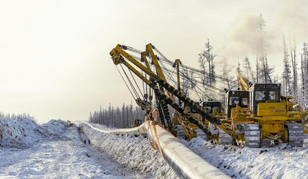 Russlands neue Gaspipeline bringt arktisches Erdgas nach China