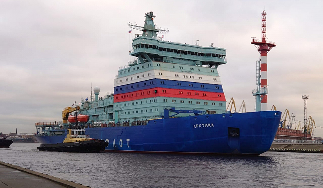 Atomeisbrecher «Arktika» mit kapitalem Motorschaden
