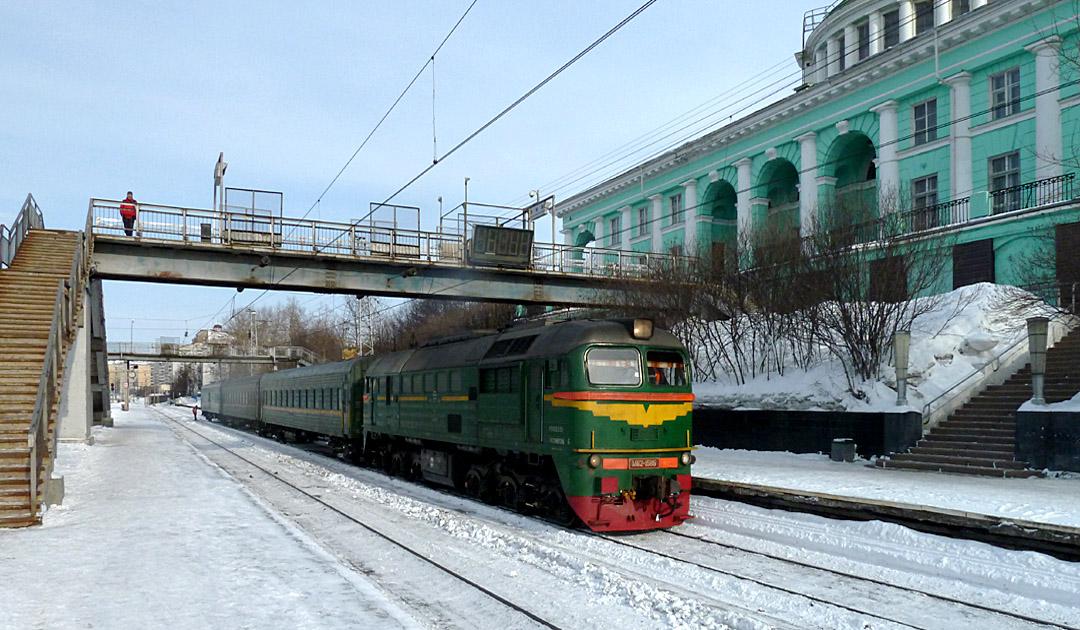 Bahnlinie nach Murmansk wird 2-spurig