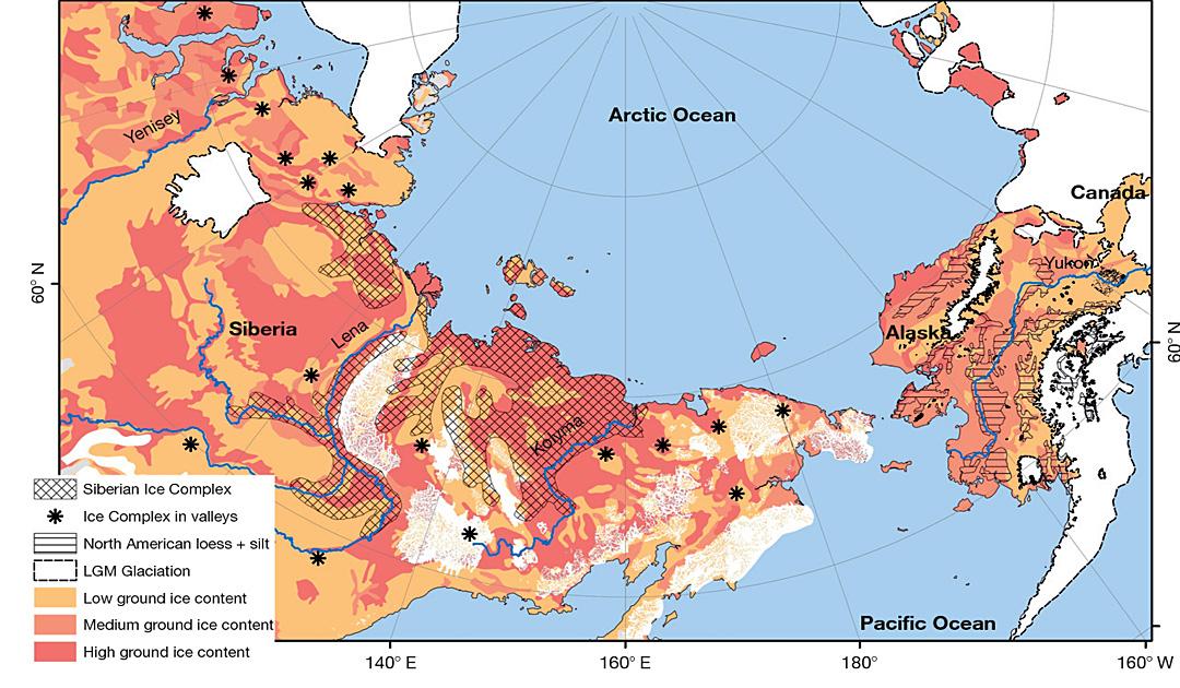 Flüsse und Seen setzen Methan in der Arktis frei