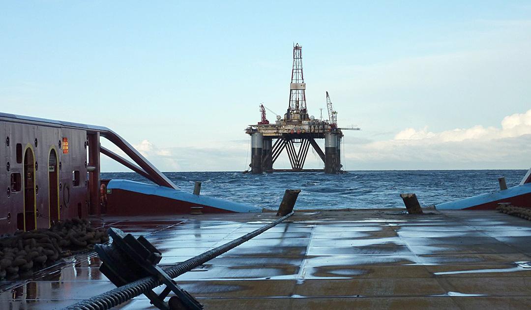 Wem gehören die Oelfelder vor Falkland