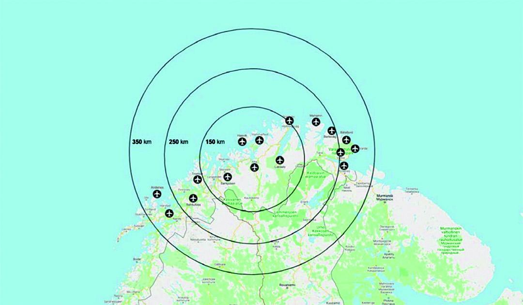 Bald Elektro-Flugzeuge in Nord-Norwegen?