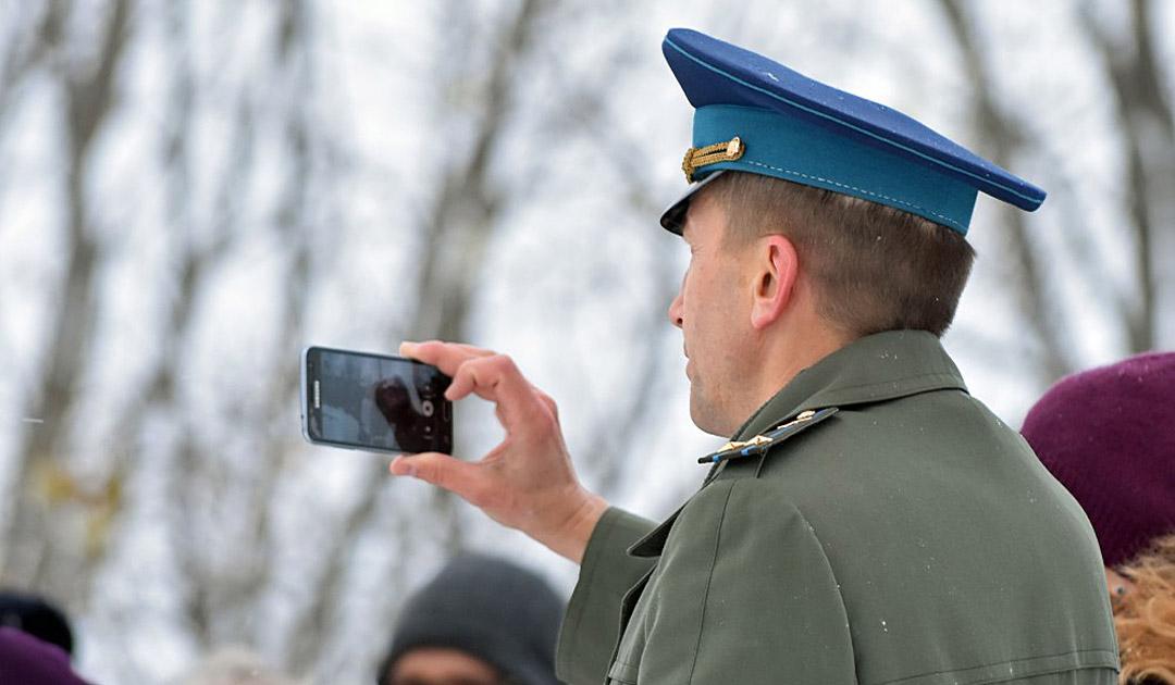 Keine mobilen Geräte mehr für russische Soldaten