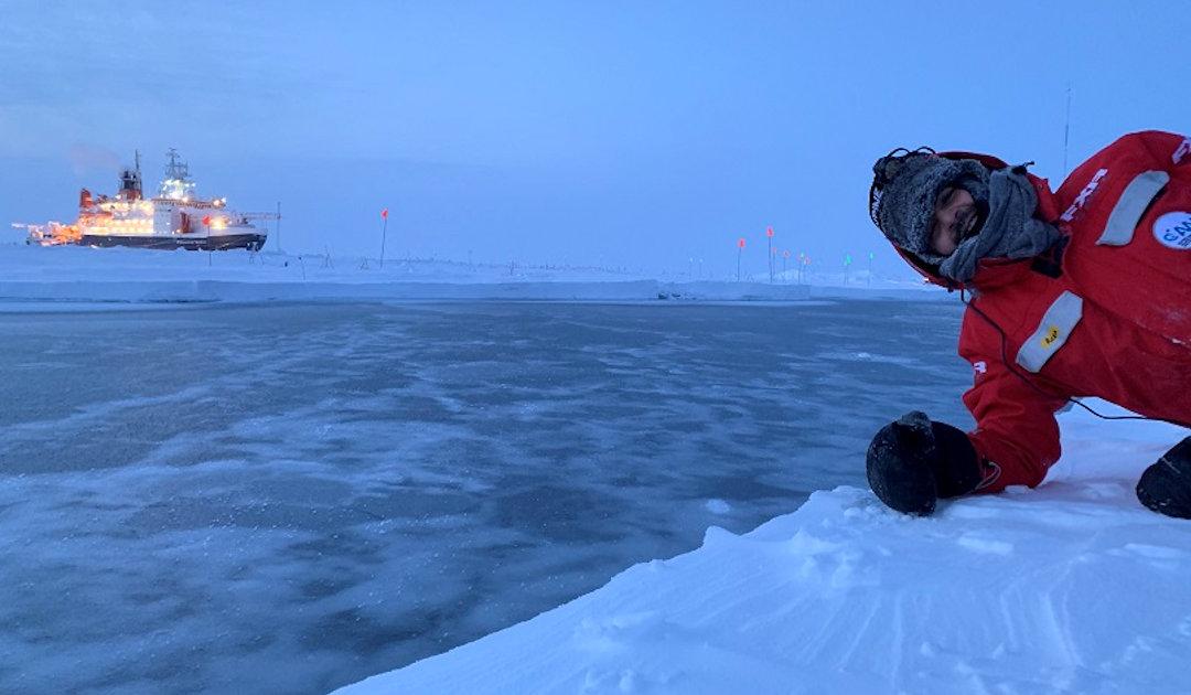 Rettung auf der Eisscholle
