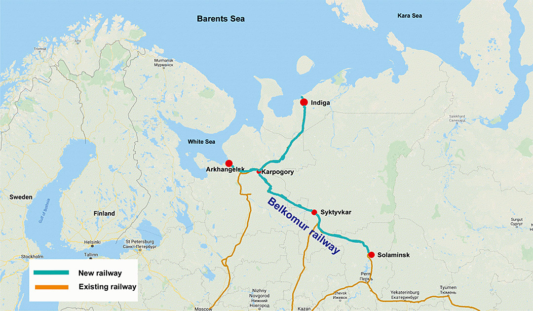 Russia plans new port in the Barents Sea
