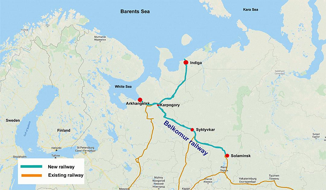 Russland plant neuen Hafen in der Barentssee