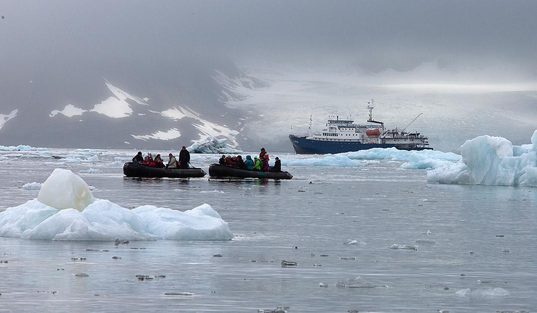 Svalbard öffnet sich schrittweise