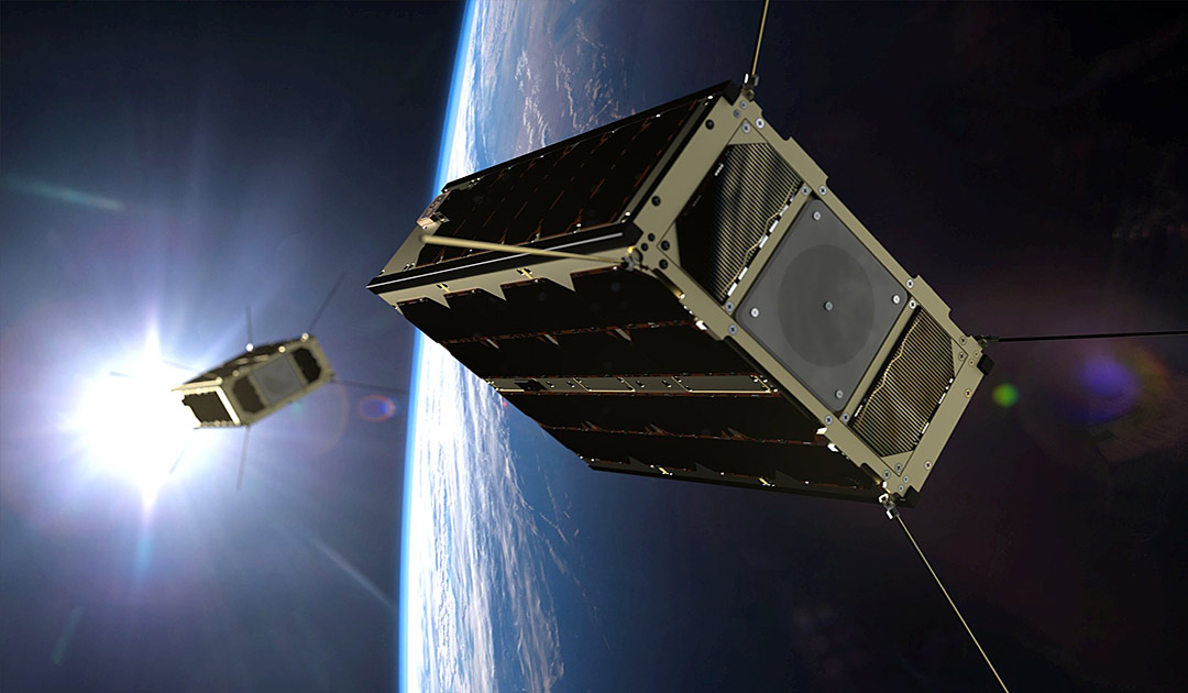 Nanosatellites for military communications