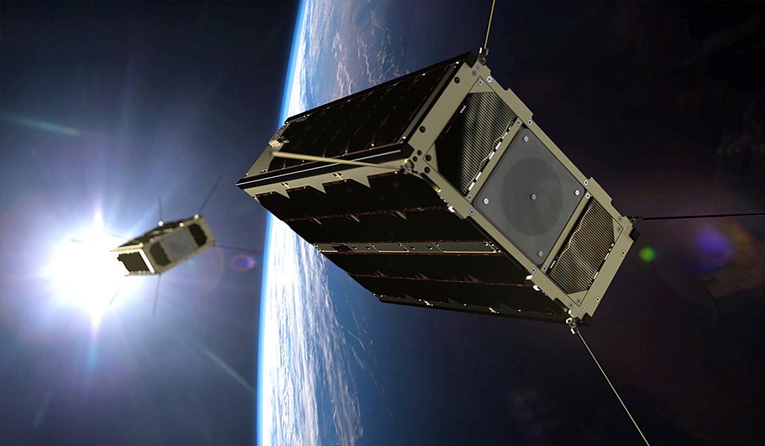 Nanosatellit für militärische Kommunikation