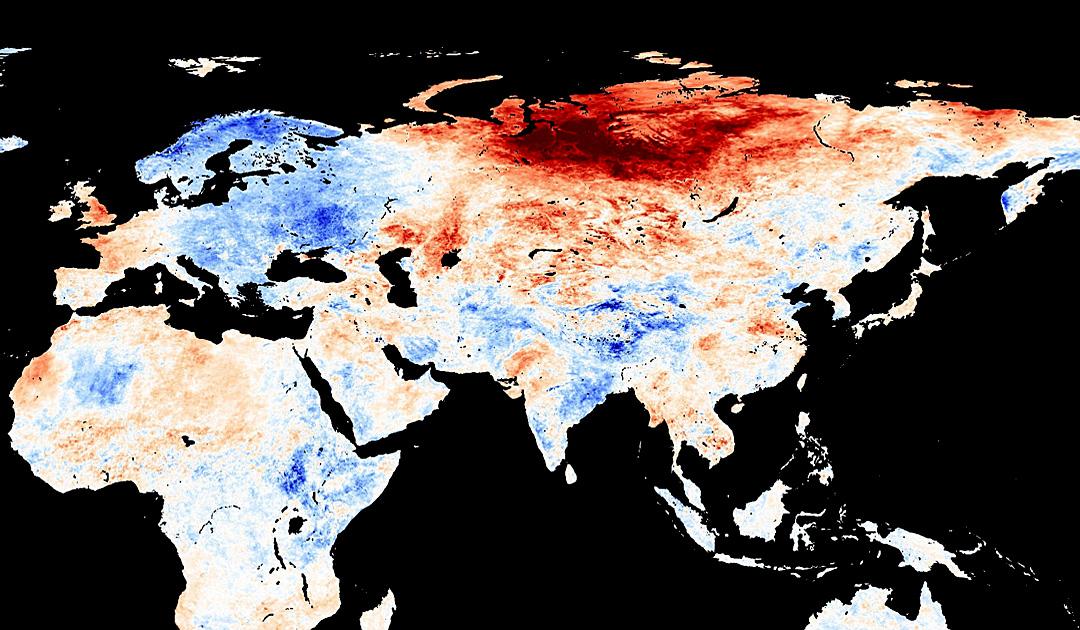 Sibirien – Rekordhitze und kein Ende in Sicht
