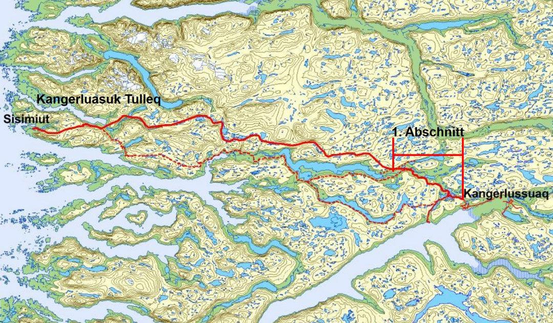 Erstes Strassenprojekt zwischen grönländischen Orten
