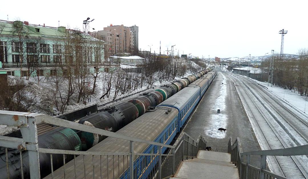 Murmansk mit der Bahn wieder erreichbar