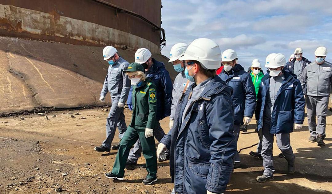 Norilsk – weitere Öltanks könnten kollabieren