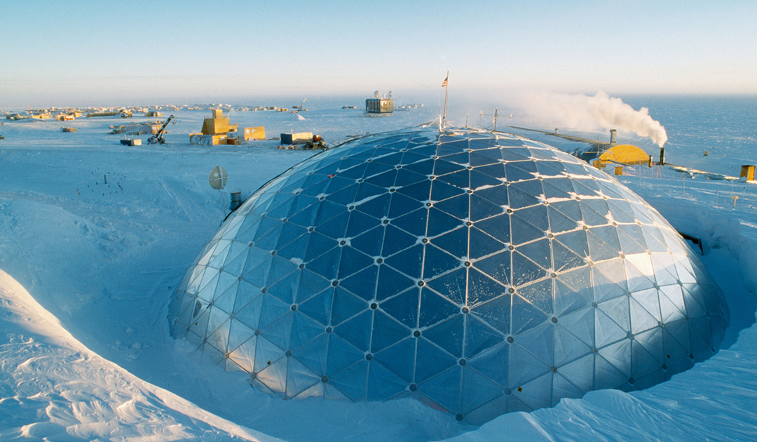 It's getting warmer at the South Pole