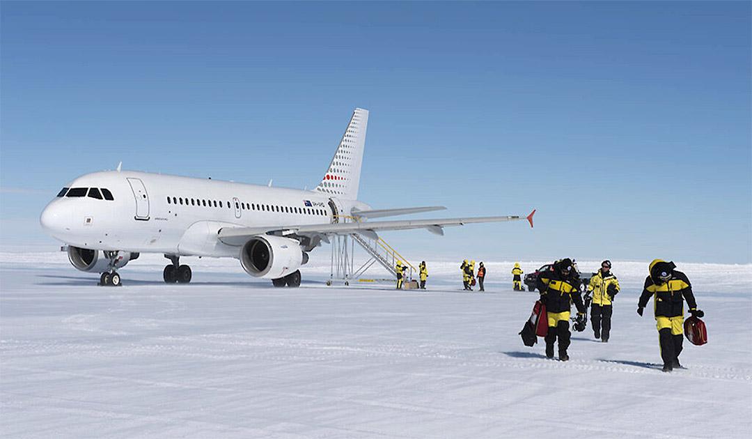 Australien plant neuen Flugplatz in der Antarktis