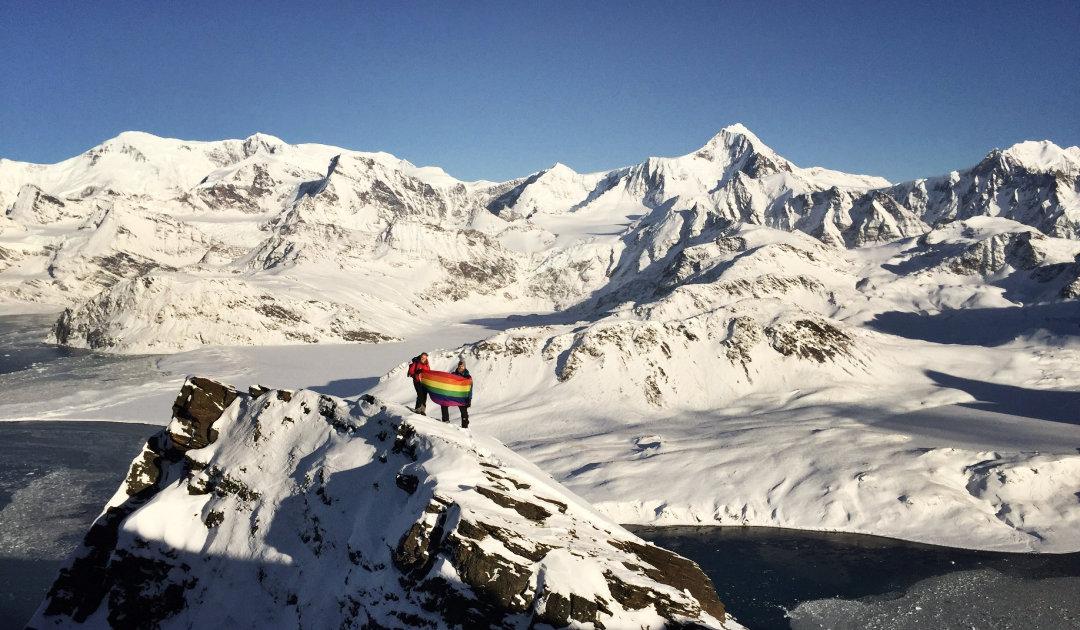 """""""Pride-Day"""" in britischem Antarktis-Gebiet"""