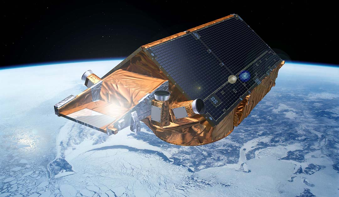 CRYO2ICE – ESA and NASA satellites jointly measure Antarctic sea ice