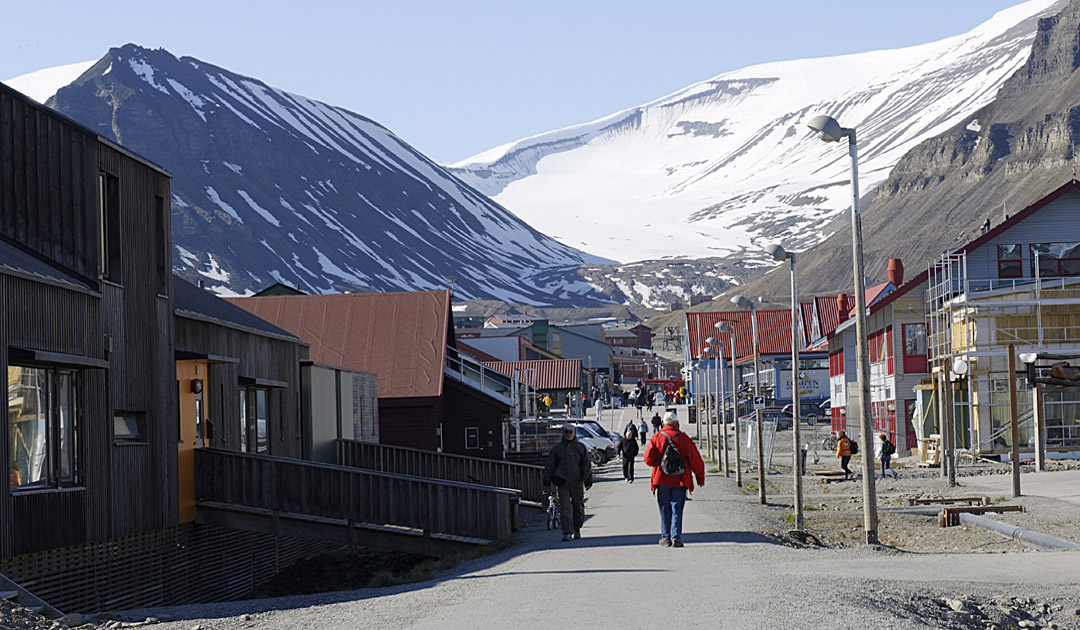 Heat record on Svalbard