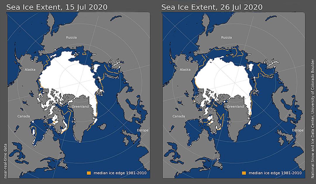 20.07.2020 – Nordost-Passage eisfrei