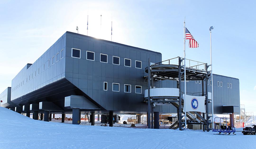Am Südpol wird es wärmer