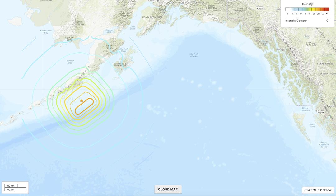 Tsunami-Warnung in Alaska nach schwerem Erdbeben