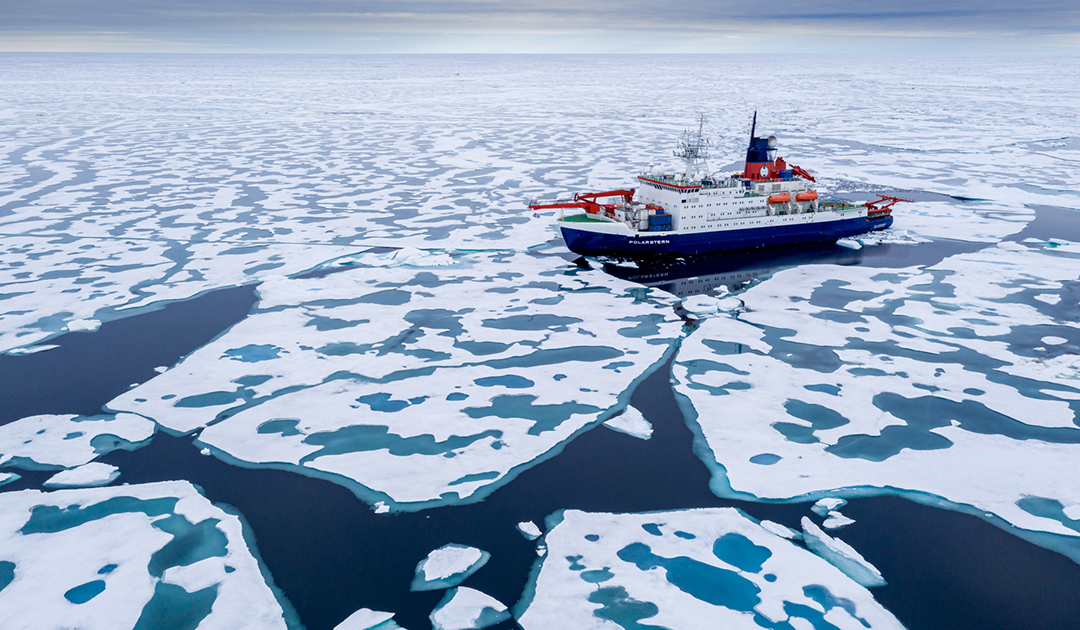 """Polarstern"" reaches the North Pole"