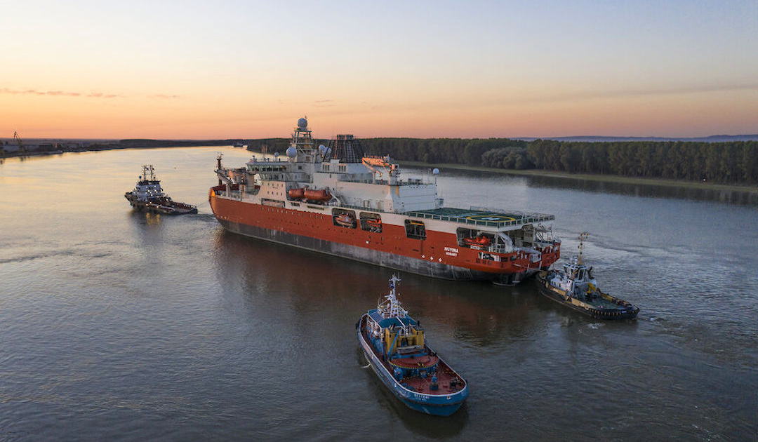 Australian icebreaker on first exciting voyage