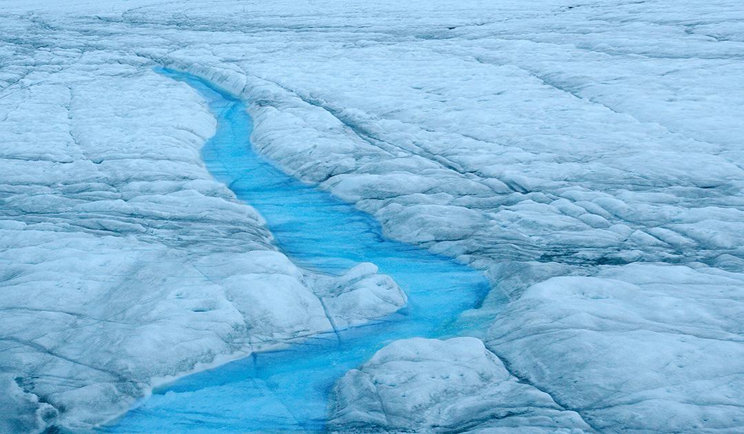 Grönländisches Eisschild verzeichnete Rekordverlust