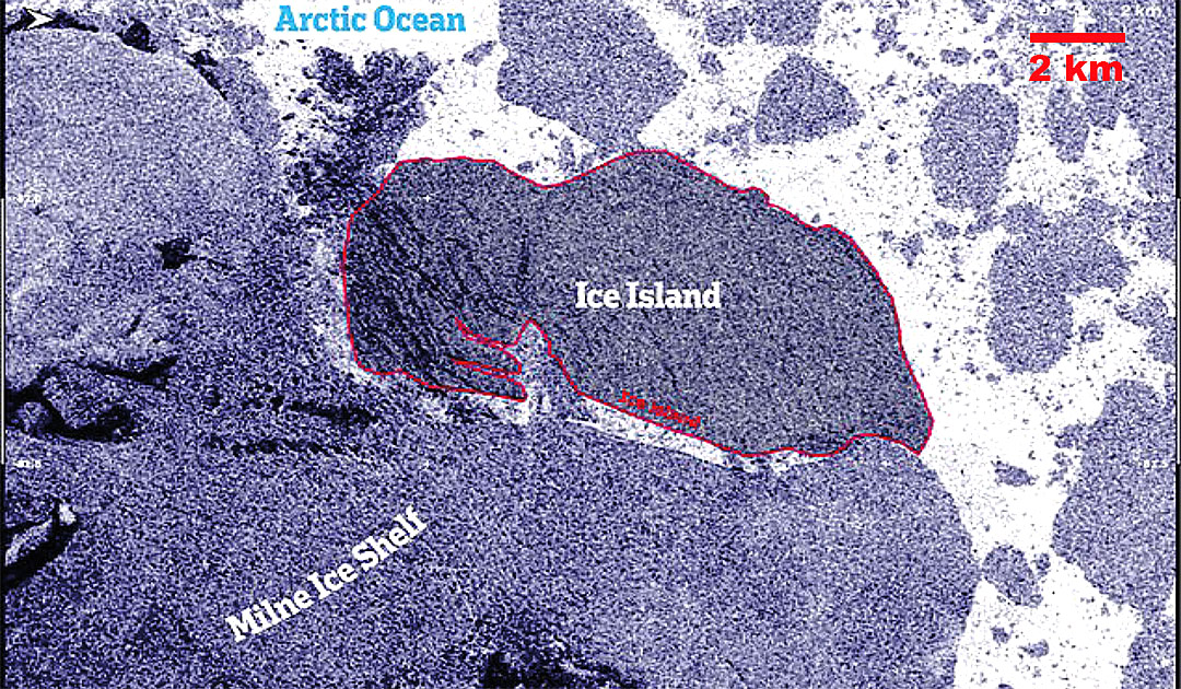 Canada's last Arctic ice shelf collapses