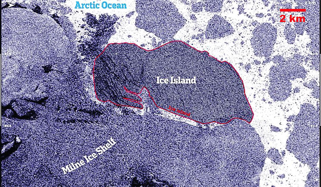 Kanadas letztes arktisches Schelfeis kollabiert