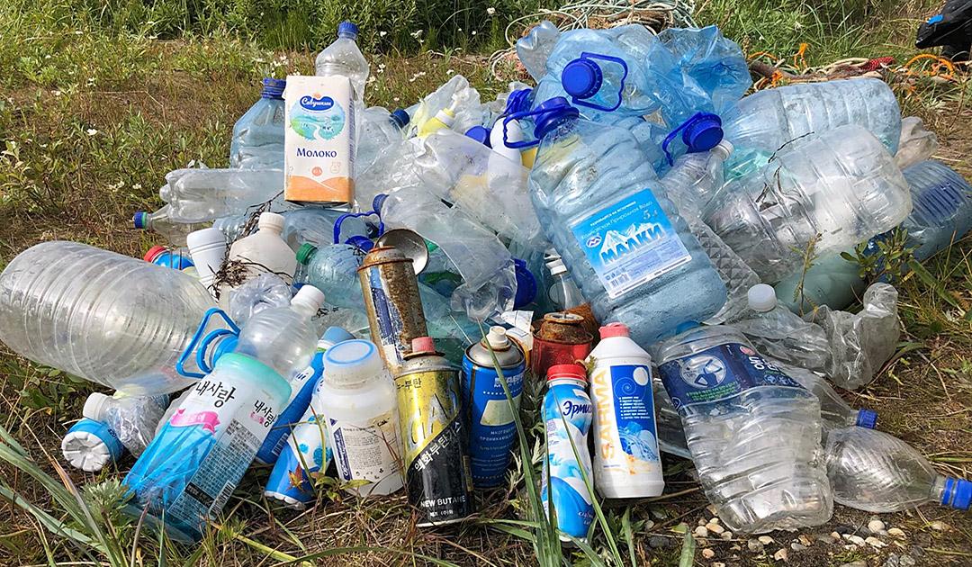 Beringmeer – Plastikmüll in der Arktis