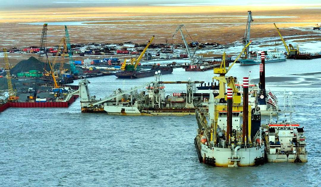 Problematische Veränderungen im Golf von Ob?