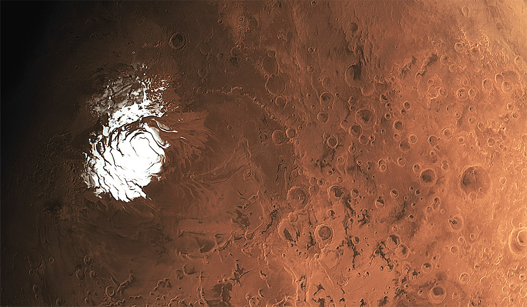 Mars – several salt lakes discovered at the South Pole